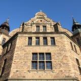 Museum in Stockholm. Stockholm, Sweden. Famous old building - Nordic Museum (Nordiska museet) at Djurgarden island Stock Photos