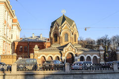 The museum of stone in Saint-Peterburg Royalty Free Stock Photography