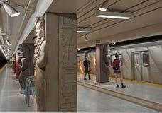 Museum subway station, Toronto Stock Photos