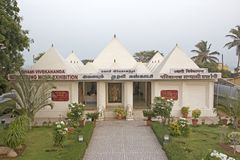 Museum of Swami Vivekananda in Kanyakumari Royalty Free Stock Photo