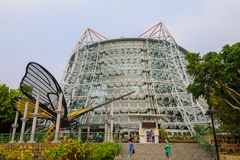 Museum in taichung park, taiwan Royalty Free Stock Image