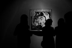 Museum Teheran-zeitgenössischer Kunst während des Frühlinges Der Iran Mittlerer Osten 2017 Lizenzfreie Stockfotografie