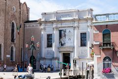 Gallerie dell`Accademia. Museum of 13th- to 18th-century Venetian artwork, with paintings by Titian, Canaletto AND Tiepolo Royalty Free Stock Image