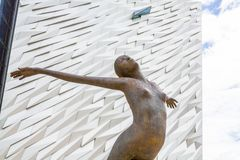The Museum, Titanic Belfast royalty free stock photography