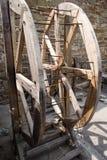 Museum of torture. Exposition museum of torture in Sudak, Ukraine Royalty Free Stock Photo