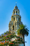 Museum Tower. The historic tower at the Museum of Man in San Diego's Balboa Park Stock Images
