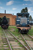 Museum of trains. Russia Stock Photography