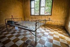Museum Tuol Sleng/21 Genozid, Phnom Penh, Kambodscha Stockbilder