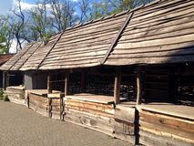Museum of ukrainian cossacks Royalty Free Stock Image
