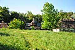 A museum of Ukrainian national architecture in Pirogovo village, Kiev, Ukraine Royalty Free Stock Photos