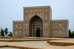 Museum, Ulugbek's observatory in Samarkand Stock Photography