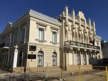 Museum of the Union in Iasi, Romania Stock Images