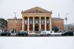 Museum van Fijne Art. Boedapest, Hongarije Royalty-vrije Stock Afbeeldingen