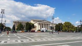 Museum van Beeldende kunsten Boedapest Stock Afbeeldingen
