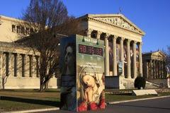 Museum van Beeldende kunsten in Boedapest Boedapest stock afbeeldingen