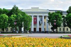 Museum van Beeldende kunsten in Veliky Novgorod, Rusland Stock Foto's