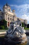 Museum van Beeldende kunsten - Wenen Stock Afbeeldingen