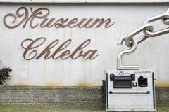 Museum van Brood, Polen stock foto