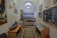 Museum van de Baltische Vloot, Baltiysk, Rusland stock afbeelding