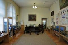 Museum van de Baltische Vloot, Baltiysk, Rusland royalty-vrije stock afbeelding