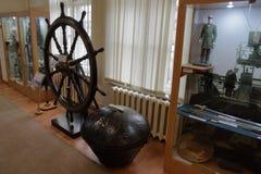 Museum van de Baltische Vloot, Baltiysk, Rusland stock afbeeldingen