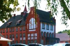 Museum van de Baltische vloot, de bouw van instellingen van de Baltische vloot stock afbeeldingen