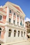Museum van de Bankbiljetten, Korfu, Griekenland Stock Afbeeldingen