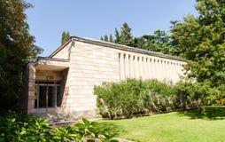 Museum van de Botanische Tuinen van Nikitsky De Krim, Yalta royalty-vrije stock foto's