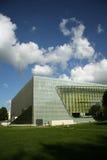 Museum van de Geschiedenis van Poolse Joden in Warshau (Polen) royalty-vrije stock fotografie