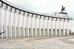 Museum van de Grote Patriottische Oorlog op Poklonnaya-Heuvel Stock Foto's