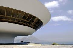 Museum van de Kunst van Niterói het Eigentijdse (MAC) Stock Afbeelding