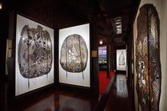 Museum van de de schaduwmarionet van Wat Khanon het oude Royalty-vrije Stock Afbeelding