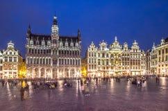 Museum van de Stad van Brussel - Broodhuis Maison du Roi, stock foto