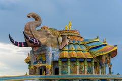Museum van de tempel van Verbodsrai in Nakhonratchasima Stock Fotografie