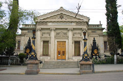 Museum van de Vloot van de Zwarte Zee in Sebastopol royalty-vrije stock foto