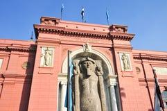 Museum van Egyptische Antiquiteiten - Kaïro, Egypte Royalty-vrije Stock Foto's