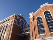 Museum van Elektriciteit de plaatsen van het de bouwdetail Royalty-vrije Stock Afbeelding