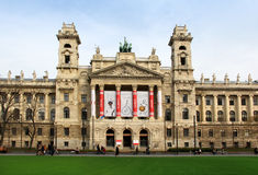 Museum van Etnografie, Kossuth-vierkant, Boedapest stock fotografie