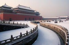 Museum van het Paleis van Peking het Nationale Stock Foto