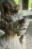 Museum van histiriacal beeldhouwwerk stock afbeeldingen