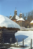 Museum van huishouden Pirogovo Stock Fotografie