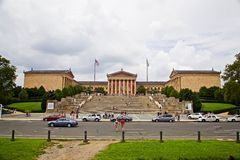 Museum van kunst, Philadelphia de V.S. Stock Foto's