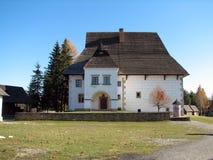 Museum van Liptov Pribylina Stock Foto's