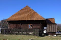 Museum van Liptov Pribylina Royalty-vrije Stock Foto