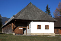 Museum van Liptov Pribylina Stock Afbeeldingen