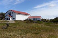 Museum van mariene vogels en zoogdieren op het landgoed van Harberton stock afbeelding