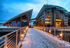 Museum van moderne kunst Oslo Noorwegen royalty-vrije stock fotografie