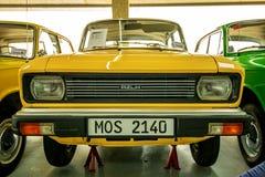 Museum van Oude Sovjetauto's Stock Fotografie