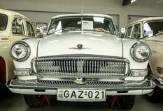Museum van Oude Sovjetauto's Stock Foto's