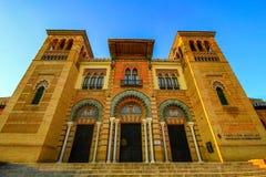 Museum van Populaire Kunsten en Tradities, Sevilla stock foto's